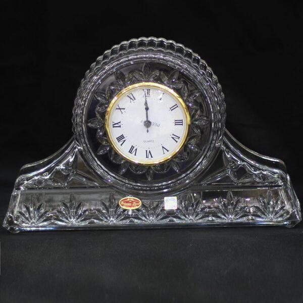ساعت رومیزی کریستال