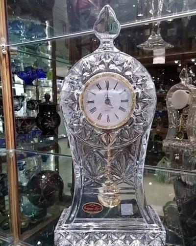 ساعت کریستال چک